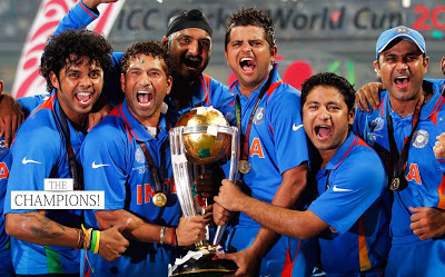 Men In Blue Indian National Cricket Team
