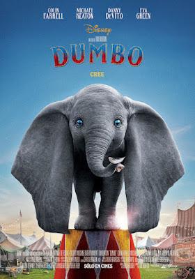 Cartel de Dumbo 2019