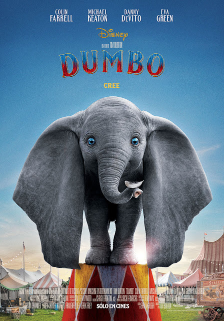 Cartel de Dumbo 2019