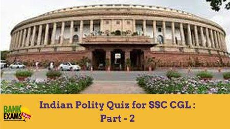 indian polity quiz