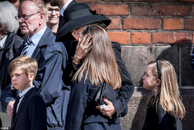 Billionaire fashion tycoon and wife grief uncontrollably as their daughters-coffins killed in Sri Lanka arrives