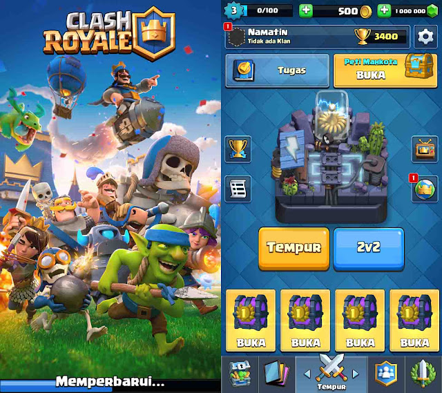 cheat clash royale unlimited gold