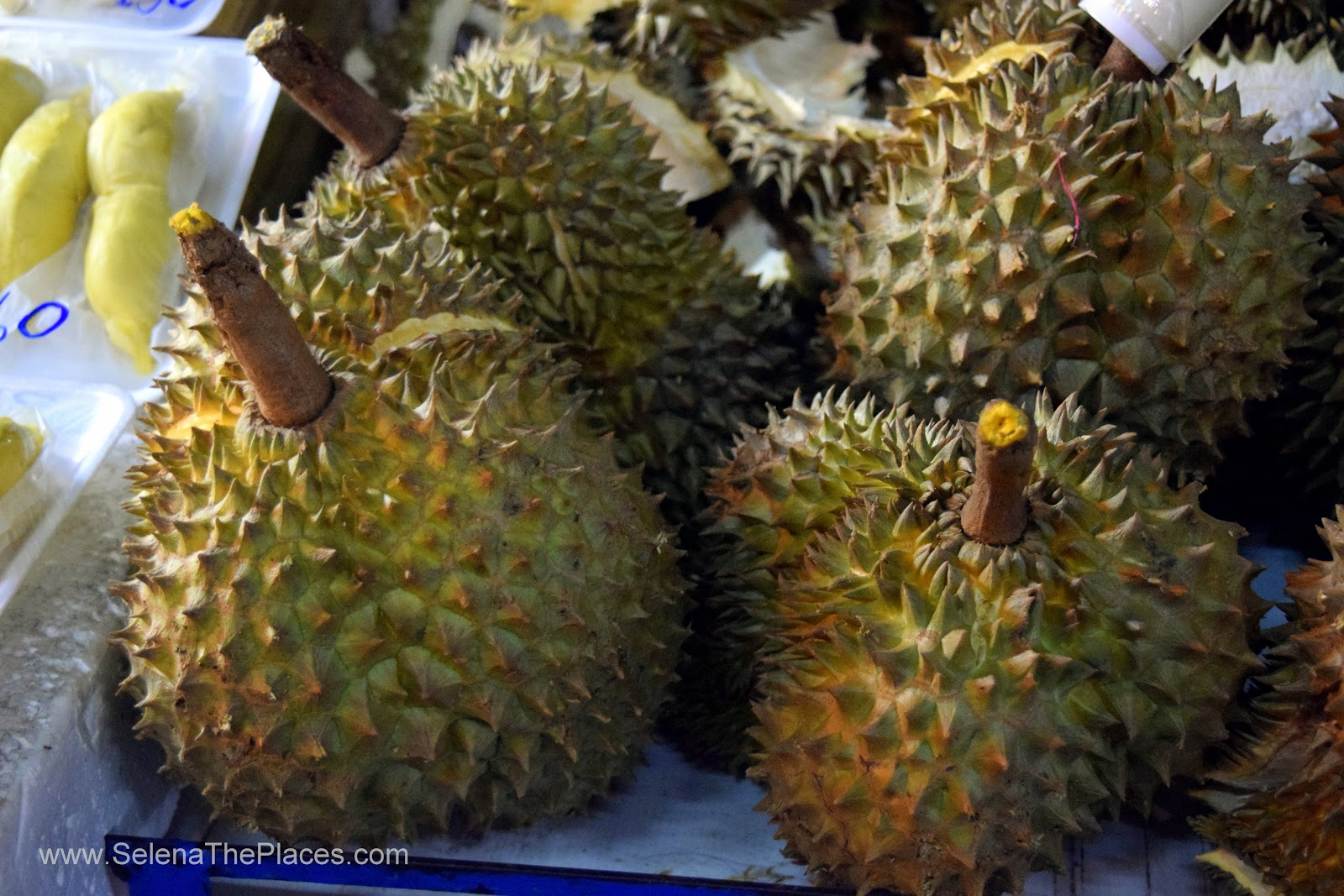 Durian Fruit in Bangkok Thailand