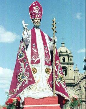 Foto de San Blas con su vara