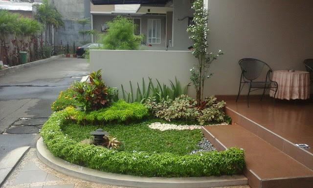 Contoh Desain Taman Minimalis Depan Rumah Murah
