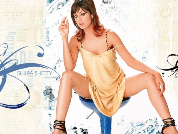 Hot Shilpa Shetty Open Leg Sexy Thighs - Sabwoodcom-3239