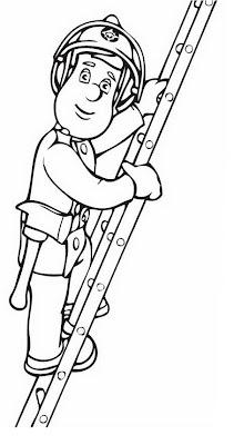 Persona Subiendo Escalera Para Colorear Dibujo Views