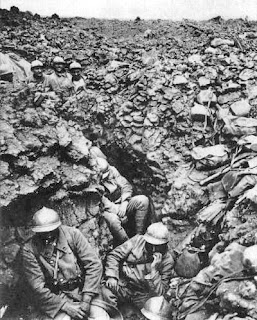 French trench at Cote 304, Verdun