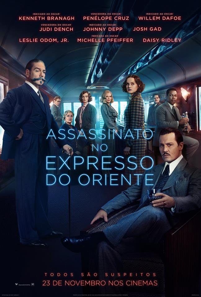 'Assassinato no Expresso do Oriente', filme com Johnny Depp e Kenneth Branagh, estreia hoje no Brasil | Ordem da Fênix Brasileira