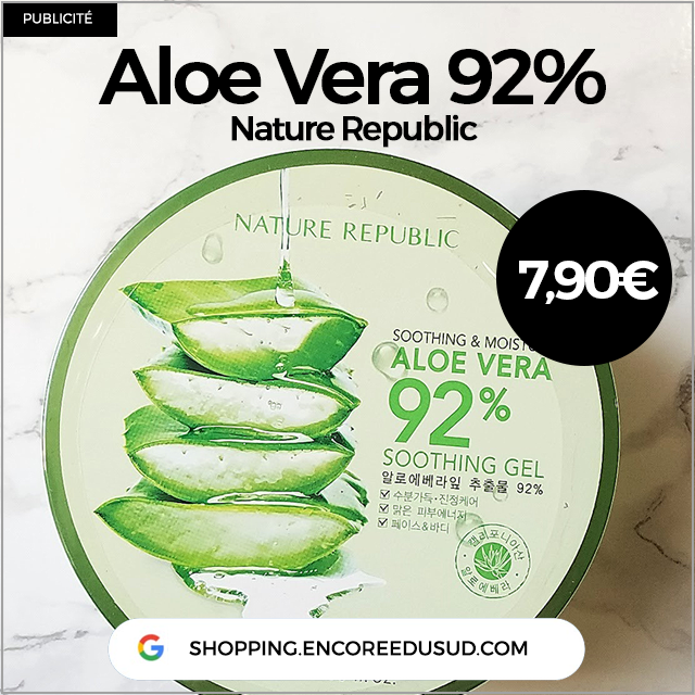 Aloe Vera 92% Nature Republic 300ml acheter