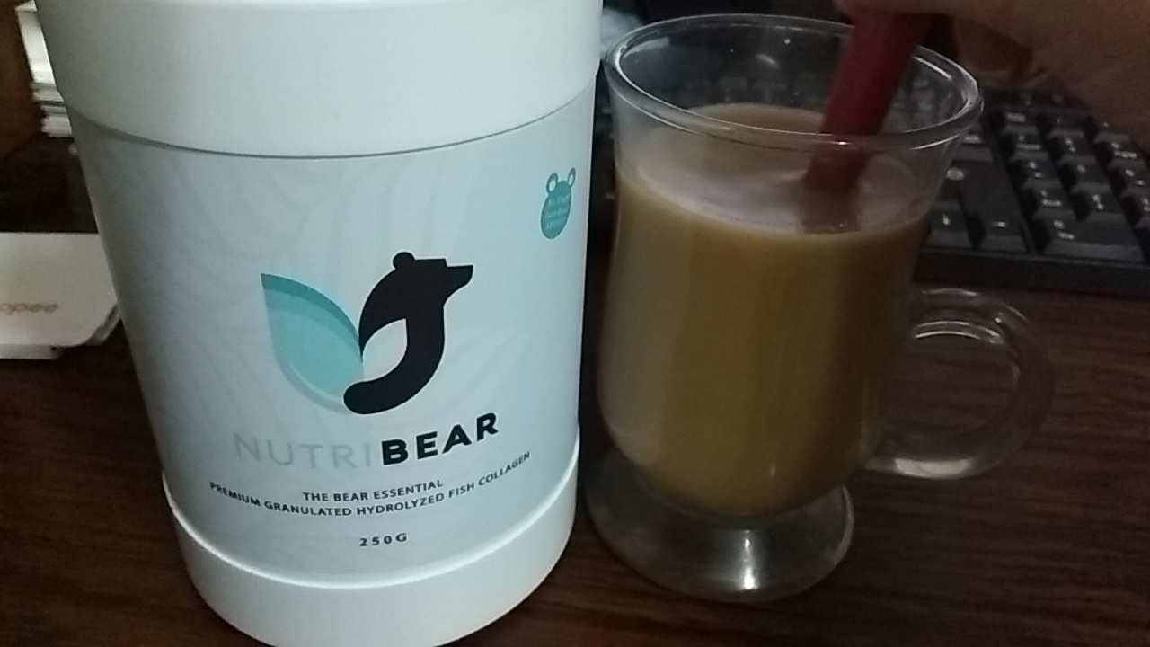 Live Paw-sitive with Hydrolyzed Fish Collagen By Nutri Bear