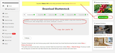 Tips Mudah Download Gratis File Shutterstock Setiap Hari