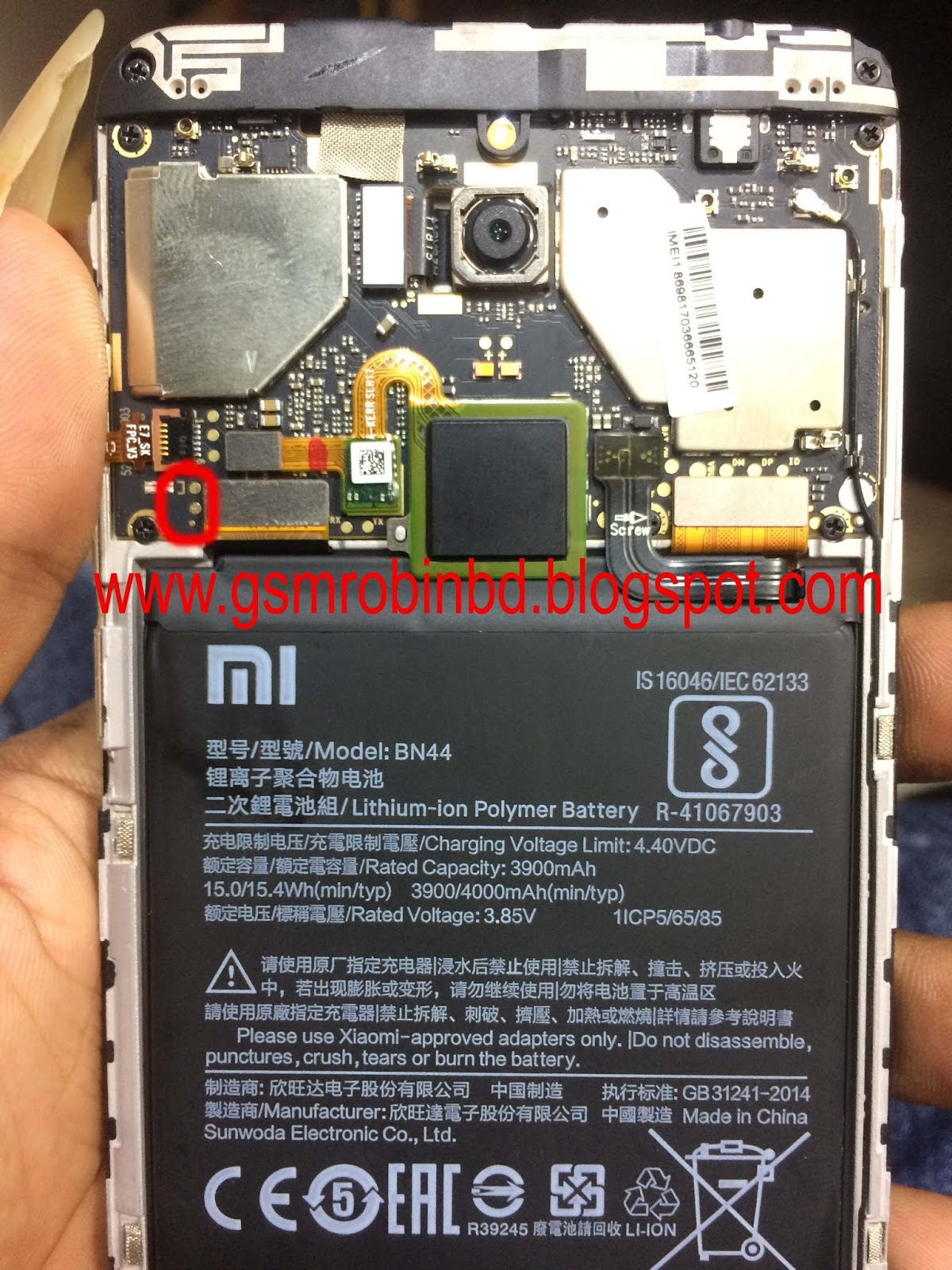 Madison : Xiaomi note 5 pro edl mode
