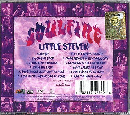 LITTLE STEVEN - Soulfire (2017) back