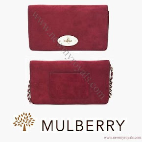 Kate Middleton style MULBERRY Clutch
