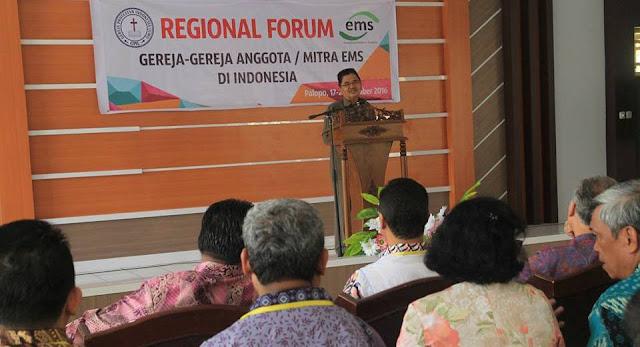 Forum Gereja-gereja di Palopo, Wali Kota Perkenalkan Program Sertifikat Rumah Ibadah