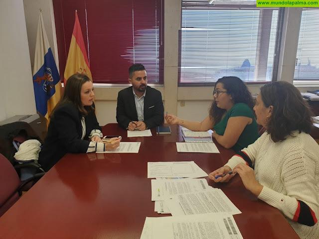 Obras Públicas y Transportes trabaja para avanzar en la transferencia de la estación de guaguas de Los Llanos de Aridane