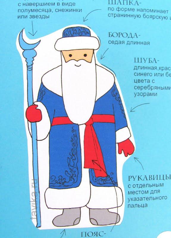 Деды Морозы разных стран - особенности