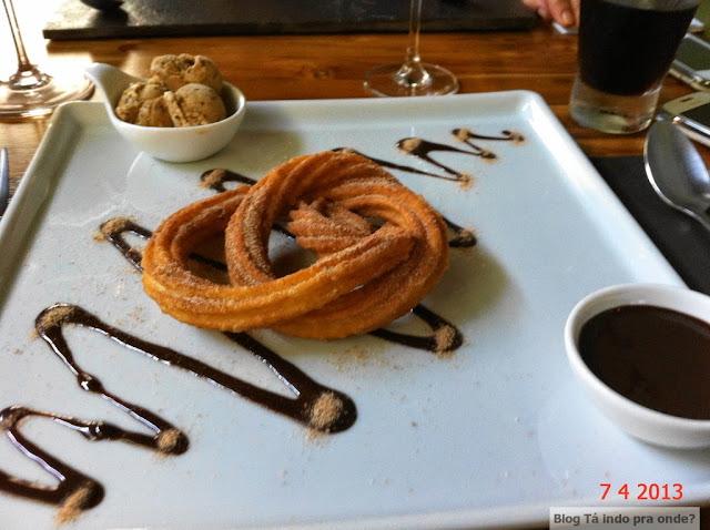 churros do restaurante Nosotros em Campinas
