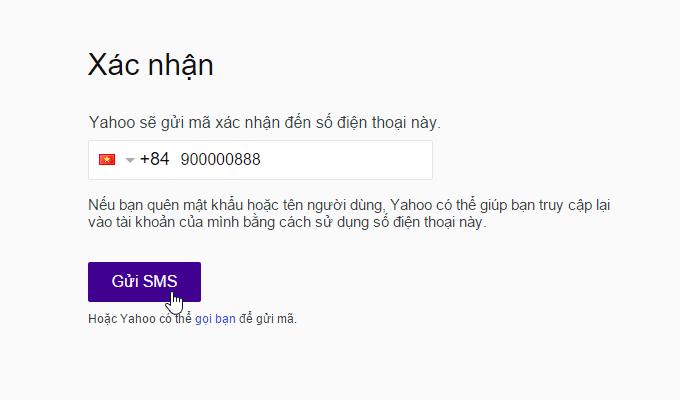 đăng kí email bằng yahoo mail