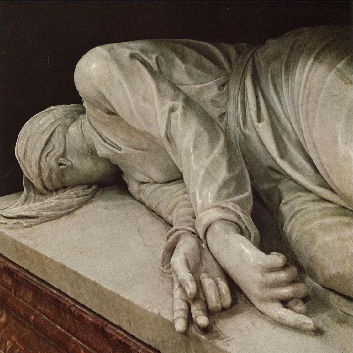 Stefano Maderno Death of Saint Cecilia