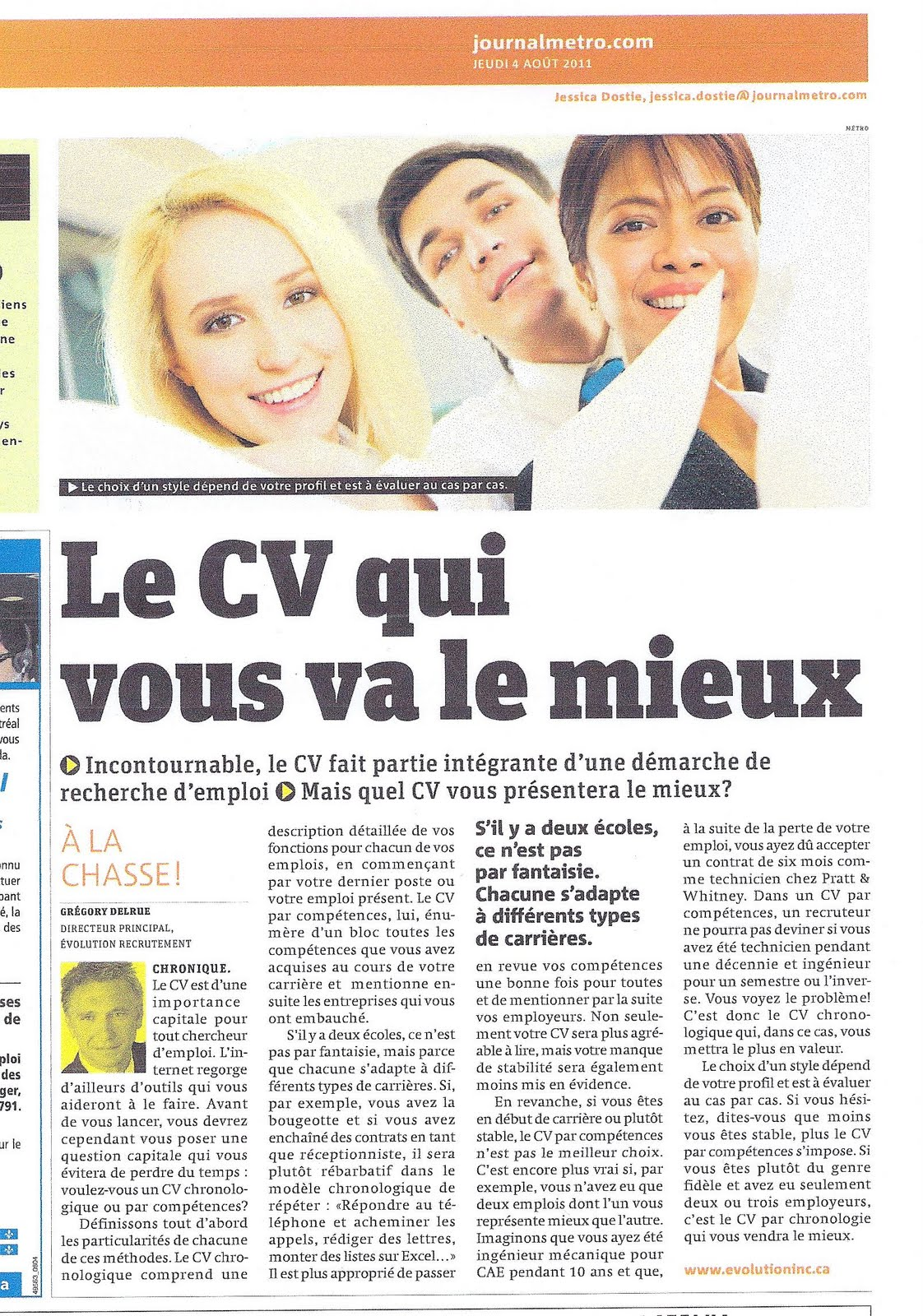differents types de competences d'un cv