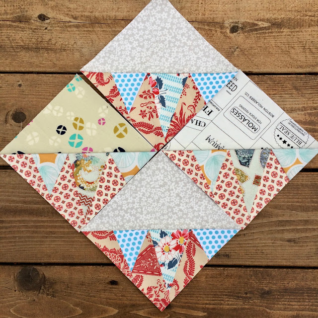 free foundation paper piecing template quilt pattern scrap buster