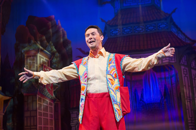 Ben Nickless as Wishee Washee in Aladdin.