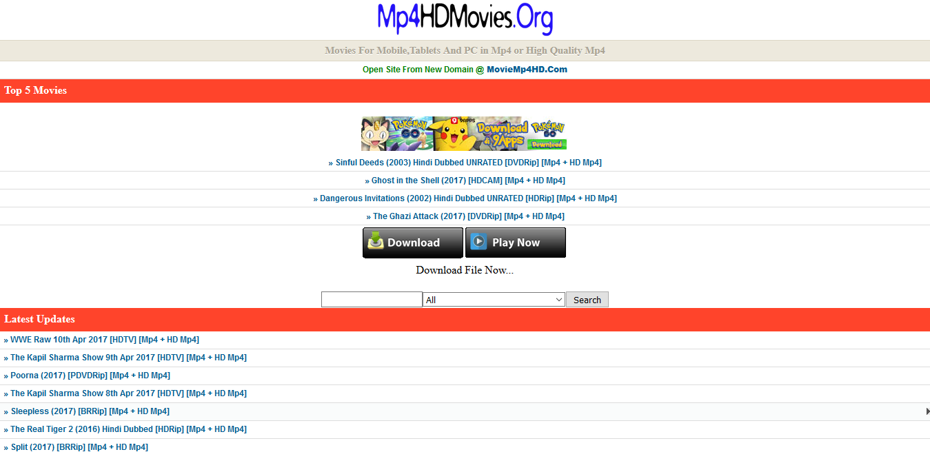 Top 7 Mp4 Movie Download Websites For Mobile And Pc