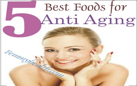5 Best Foods for Anti Aging