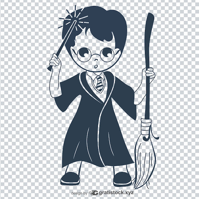 ree Download Icons - Stock Icon Of A Wizard Boy With Magic Wand