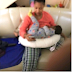 Photo of Tonto Dikeh breastfeeding her son