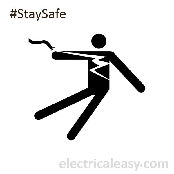 Signs of electrical hazards and precautions | electricaleasy.com
