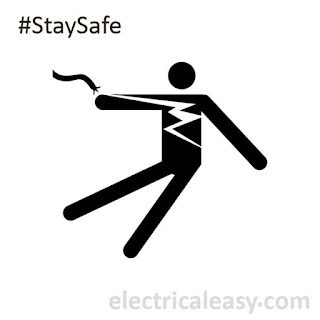 signs of electrical hazards and precautions
