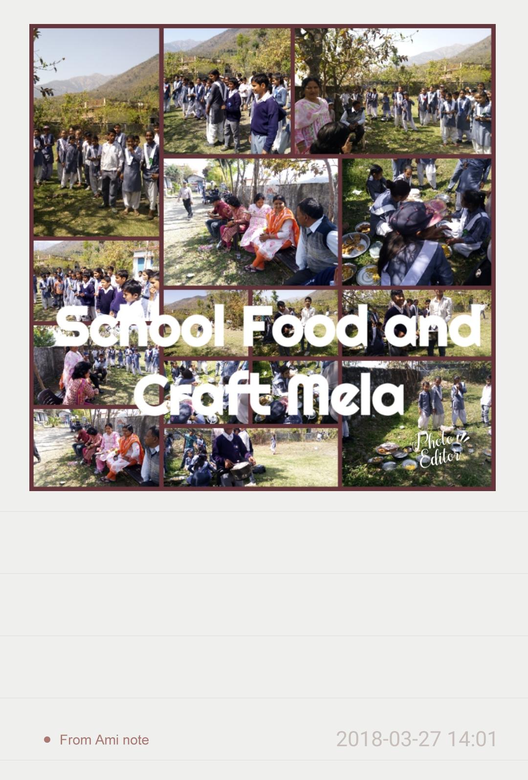 GIC MISRAS DEHRADUN: FOOD AND CRAFT MELA IN JUNIOR SCHOOL