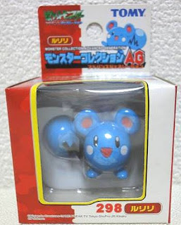 Azurill Pokemon figure Tomy Monster Collection AG series