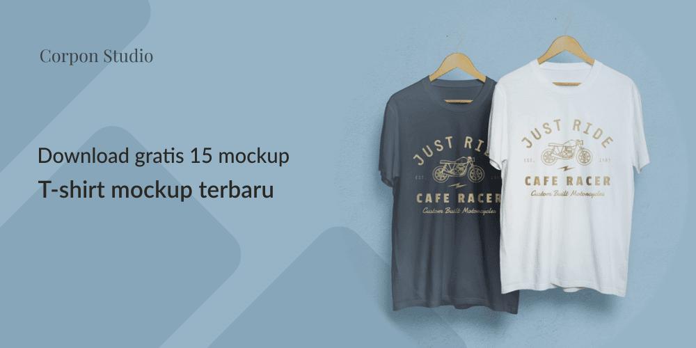 Download T-shirt Mockup Terbaru Gratis