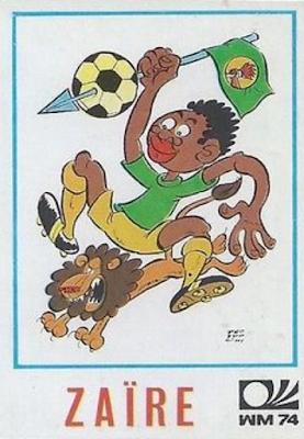 Figurina Mascotte Zaire Monaco '74