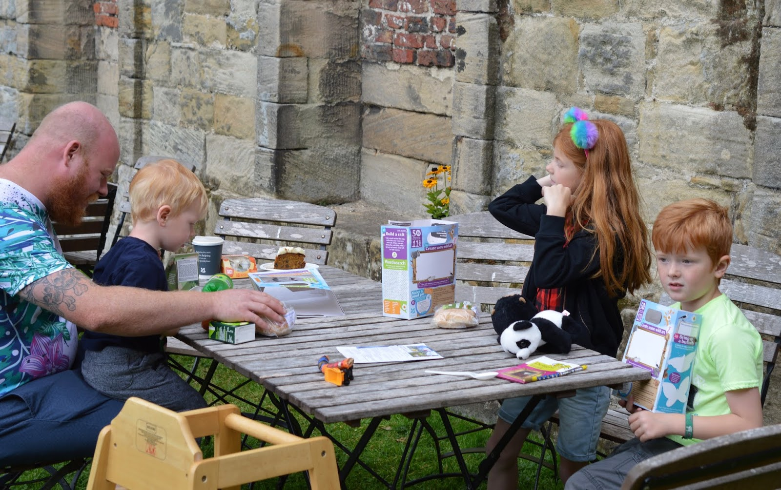 10 Reasons to Visit Seaton Delaval Hall  - cafe seating