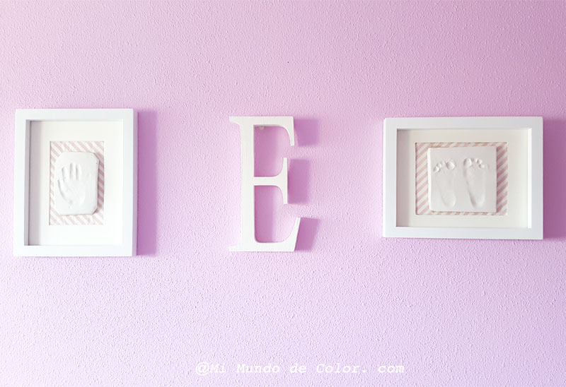 diy footprint of my baby  nursery room