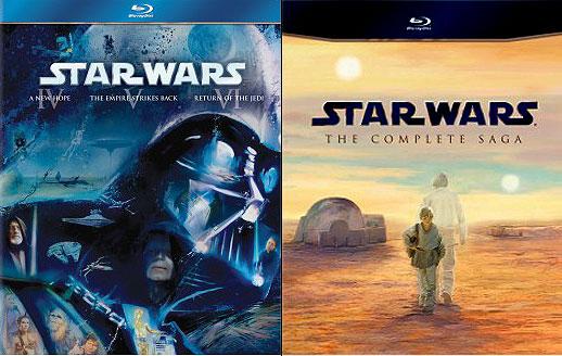 Space1970 News Star Wars Blu Ray Details