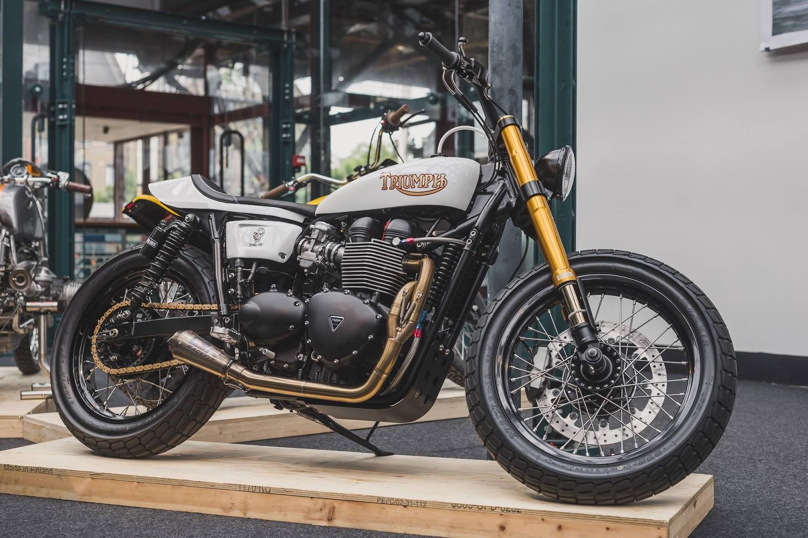 Bike shed london 2016 rocketgarage cafe racer magazine for Motorcycle shed