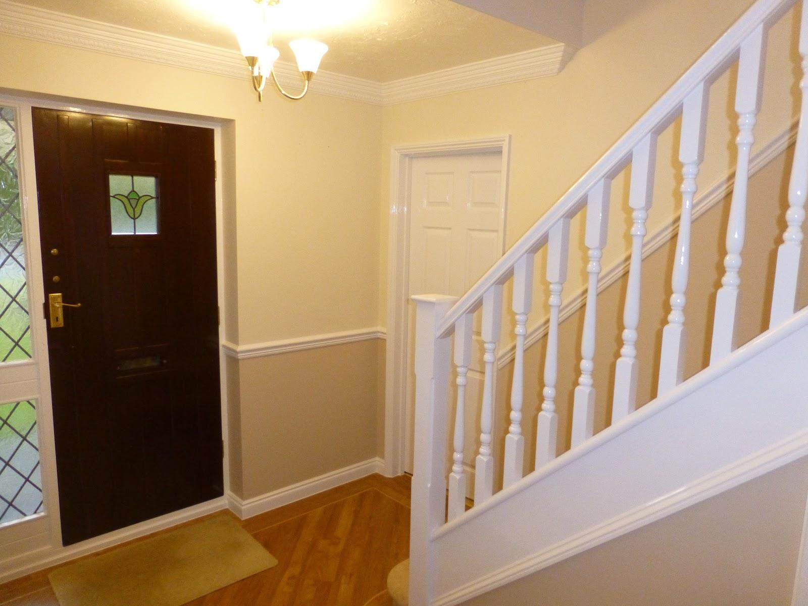 Hall, Landing & Stairs - April 2014. | Mark Bullock Decorating Blog
