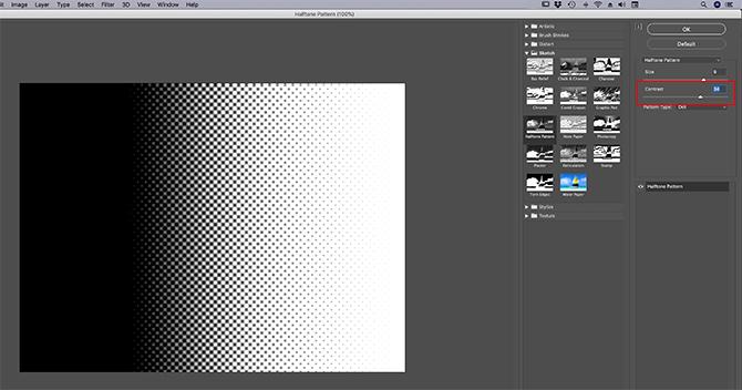 buat-dasar-tekstur-photoshop-cc-07-halftone-kontras-sesuaikan