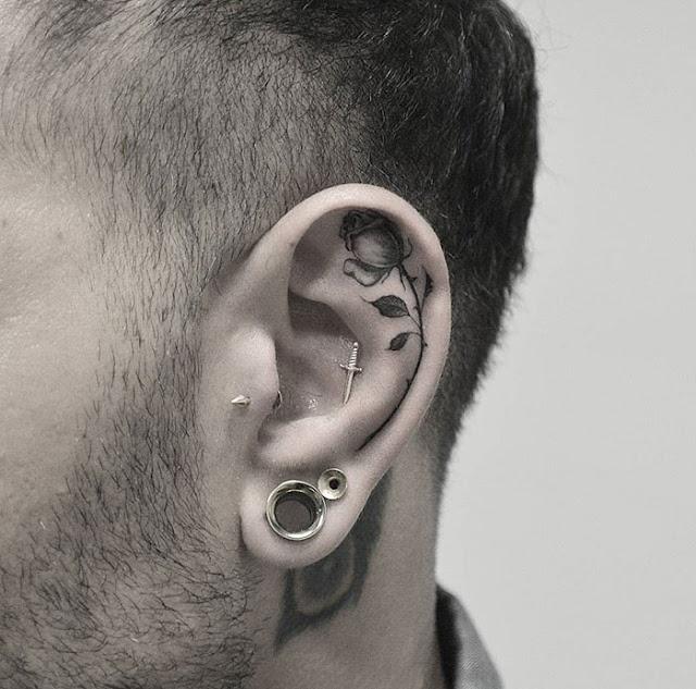 Tatuagens para as orelhas