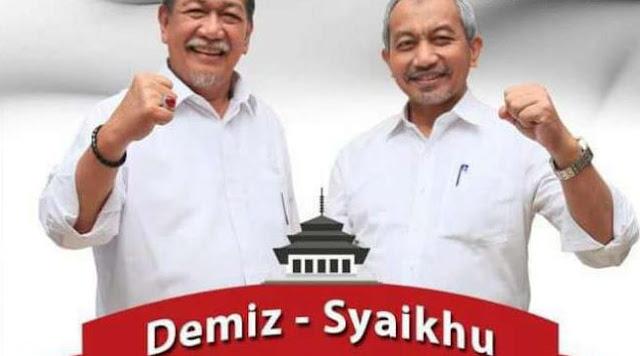 Koalisi Zaman Now, Deddy Mizwar-Ahmad Syaikhu Dapat Tiket Pertama di Pilgub Jabar 2018