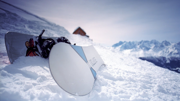 Wallpaper: Ready for Snowboarding