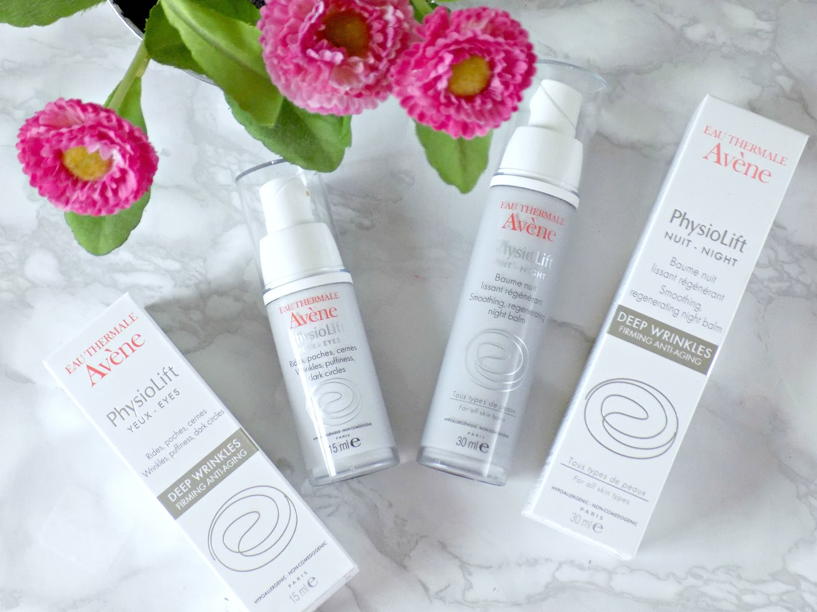Avene PhysioLift range