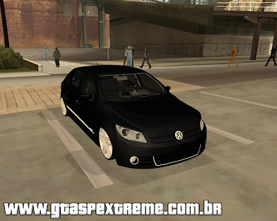 Vw Gol 2009 Power Edit para grand theft auto