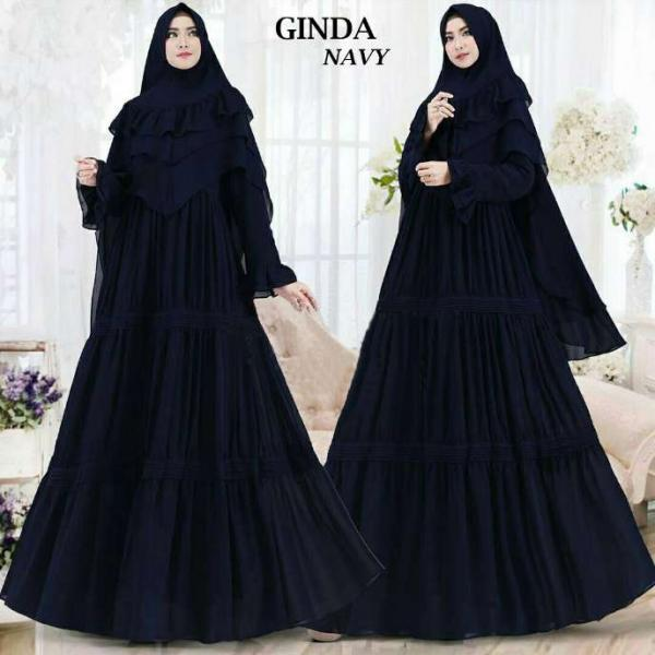 Jual Baju Busana Muslim Gamis Ginda Syari